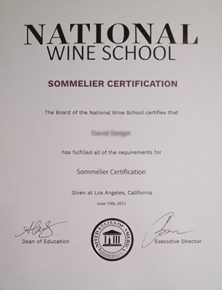 National Wine School | Review of NWS Sommelier Certifications